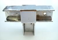 Соединитель 20*20 PR6 (3-х труб Т-образный  хром)