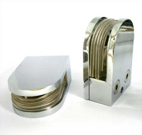 Стеклодержатель J80 (под стекло 8-20мм) металл хром