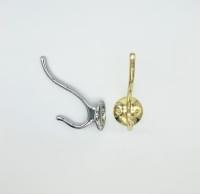 Крючок двойной FW2406 золото