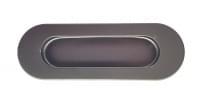 Ручка QD-003D L=120(86) нерж. сталь, черный матовый