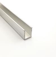 Профиль для душевой кабины SF22 12x17мм (с бортиком)  L=2м алюминий