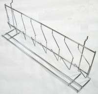 Полка на сетку эконом-панель для дисков,печатной,чулочной продукции 600мм