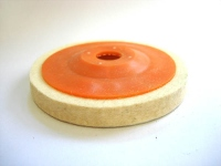 Полировочный диск фетровый d=95мм