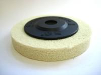 Полировочный диск D=100 (белый) 4-15 зернистость 80