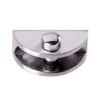 Стеклодержатель J63(17*33*13мм) (под стекло 5-8мм) металл хром