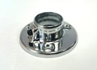 Трубодержатель D=16 торцевой с прижимным винтом сталь (К206)