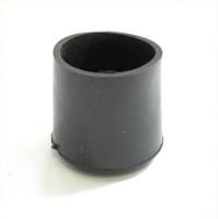 Подпятник d=25мм резина чёрный