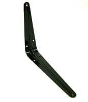 Кронштейн черный 100х125 мм