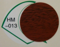 Заглушка самоклеящаяся d=20 махагон HM-013