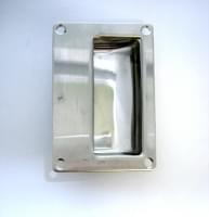 Ручка врезная (110*75) нерж.сталь