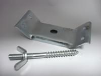 Стяжка для стола c винтом металл цинк