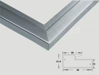 Алюминевый профиль L-120 L=3 м