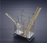 SJ 301 Подставка для столовых приборов на трубу d=16 нерж. сталь