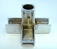 Соединитель 25*25 PR2 (4-х труб  90гр хром)