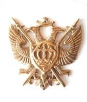 Двуглавый орел, бронза, 25х25см
