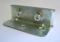 Стяжка  для кровати малая металл (100мм)