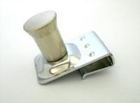 Ручка для стекла 23-054 (надевающаяся) хром