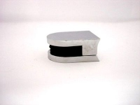 Стеклодержатель J77(А) (29*23*13мм) (под стекло 5-8мм) металл хром