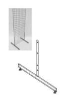 D-QT071843 Ноги для сетки эконом-панели Т-образные