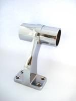 Держатель поручня D=32мм соединительный хром (Т2880)