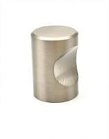 Ручка кноб д.18мм никель (материал: алюминий) 1309К