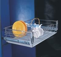 РТJ 008 Q  Сушка для посуды выдвижная 425*765*170