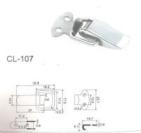 Защёлка чемоданная №107 нс201 (28*11)