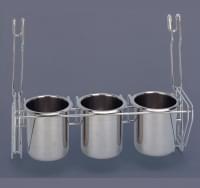 СWJ 263 В   3 металлических стакана     (340*150*280)