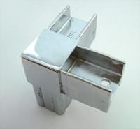 Соединитель 20*20 PR1 (3-х труб  90гр хром)