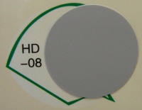 Заглушка самоклеящаяся d=20 серая HD-08