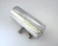 J-011 D=32 Торцевой внутр.соединитель хром (FW2013-32)