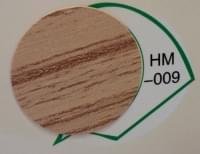 Заглушка самоклеящаяся d=20 дуб HM-009