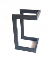 Подстолье черное TL1024 (H500*W300*L300мм) металл