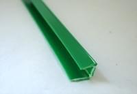 Молдинг Р-образный зелёный L=2,44м