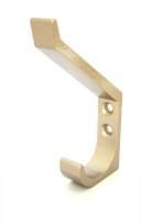 Крючок двойной A095-71 хром матовый
