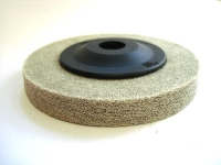 Полировочный диск D=100-15 для нерж. стали, зерн.80 (серый)