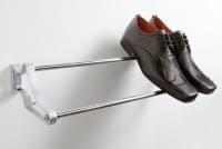 Обувная полка регулируемая, ширина 450-700мм, S - 0101