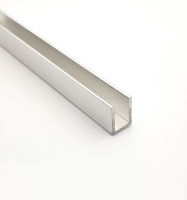 Профиль для душевой кабины SF32 12x17мм алюминий