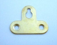 Петля подвеска для шкафа Т-образная жёлтая