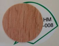 Заглушка самоклеящаяся d=20 вишня светлая HM-008