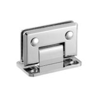 Навес для душевых кабин  H-108 (90 гр. 1 стекло, 2 стороны открывания) покр: хром (мат-л:бронза)