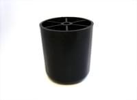 Опора №3  L=23мм, д.=49мм пластик черный
