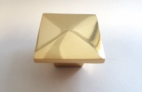 Ручка L940 30х30мм металл золото