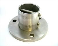 Основание стойки ограждения (внешн.д.=48мм) SK -510,нержавеющая сталь №304