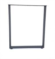 Подстолье черное TL1043 (L=710, ширина 600мм) металл
