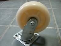 Колесо  D=150 поворотное белое полипропилен гп 300 кг