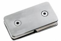 соединение 2-х стёкол H-49 (180гр.) (под стекло 6-12мм) нерж.сталь