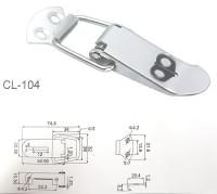 Защёлка чемоданная №104 нс201(55*22)