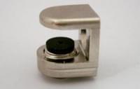Стеклодержатель А-05 (15*14*16мм) (под стекло4-8мм) хром