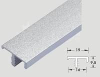 Алюминевый профиль F-O15 L=2.44м (на 16мм ДСП)